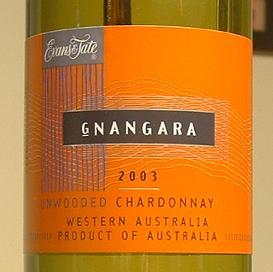 Unwooded Chardonnay - 2003 - Gnangara