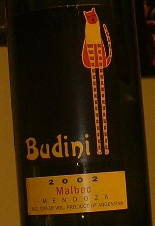 Budini Malbec 2002